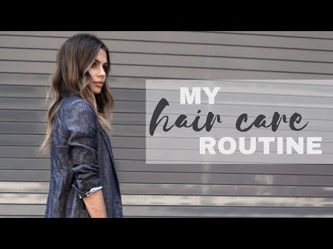 My Hair Care Routine + How To Tame Frizzy Hair