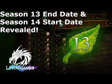 [Diablo 3] Season 13 End Date & Season 14 Start Date Revealed!