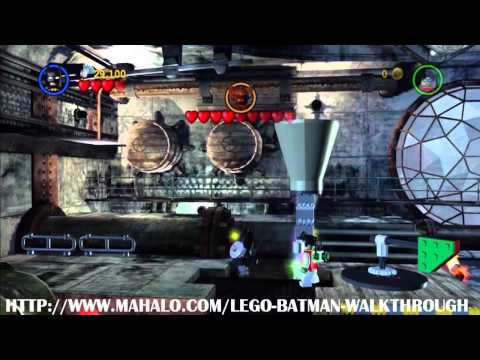 LEGO Batman Walkthrough - Boss Battle: Manbat