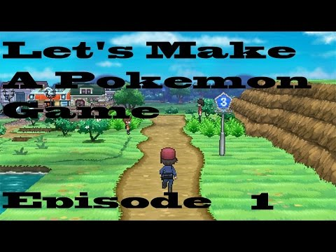 Let's Make a Pokemon Game! Part 1