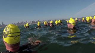 Alcatraz 2017 Swim