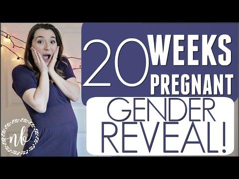 20 WEEKS PREGNANT | EMOTIONAL GENDER REVEAL!!!