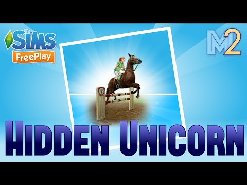 Sims FreePlay - Hidden Unicorn Quest with Harry Potter & Avengers (Let's Play Ep 11)