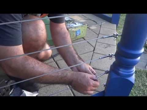 How To Crimp A Stainless Steel Balustrade Wire