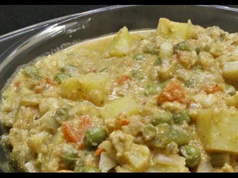 சப்பாத்தி குருமா | Easy veg Korma | காய்கறி குருமா | ReCP-11