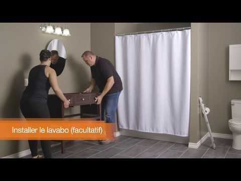 Installer un Meuble-Lavabo