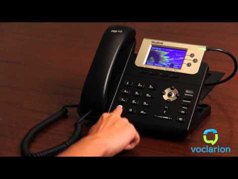 Voclarion: Call Forward No Answer - Forward to Voicemail