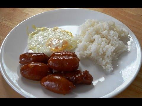 Chorizo or Longanisa Pang Bata Pinoy Almusal Lutong Pinoy