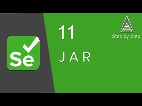 Selenium Beginner 11 -  How To Create JAR File
