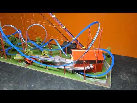The Ethanator Model Roller Coaster