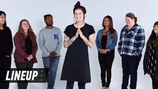A Tattoo Artist Matches the Tattoo to the Person | Lineup | Cut