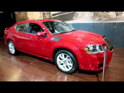2012 Dodge Avenger R/T Exterior and Interior at 2012 Toronto Auto Show