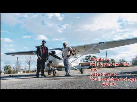 First African to Fly a Small Plane Around North Alabama.