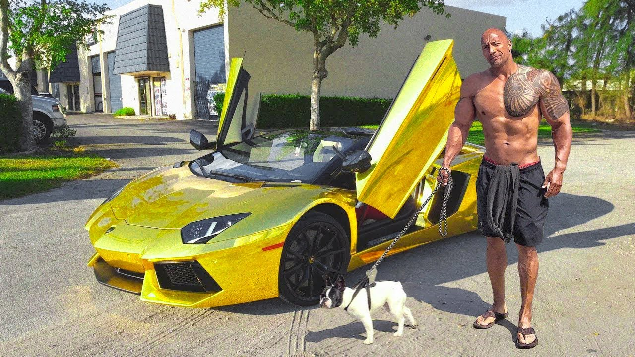 This is How The Rock Spent a Quarter Billion Dollars