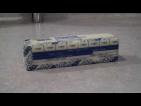 Kitchen Tip  10 ~ Reusing Butter Wrappers