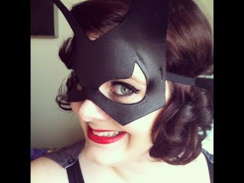 Easy Batgirl Halloween Tutorial