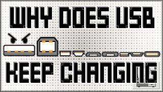 Why Does USB Keep Changing?   Nostalgia Nerd