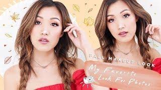 Fall Makeup Look   MY FAVORITE LOOK FOR PHOTOS