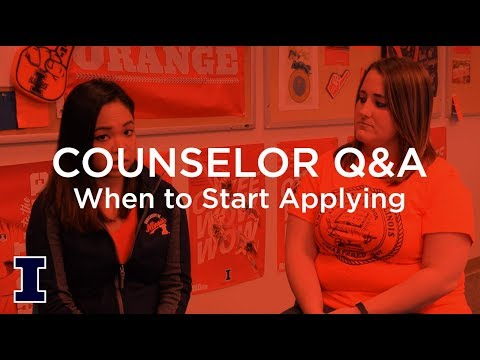 Ask Admissions: When should I start applying to colleges?
