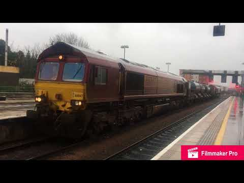 GWR's IETs and Freight Trains at Bristol Parkway, Newport and Cardiff Central 20/11/17