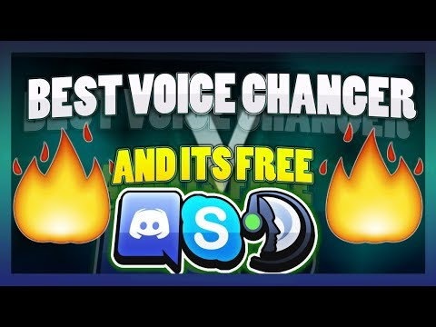 Voice Changer/Autotune THAT WORKS ON ANYTHING!! Discord Skype Teamspeak Steam