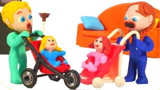 Download FROZEN ELSA & ANNA PLAY WITH DOLLS ❤ Superhero & Frozen Elsa Play Doh Cartoons For Kids