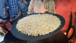 Live Puffed Rice Making in Sand | Famous Rs 10 Snack in Nagpur | Indian Street Food
