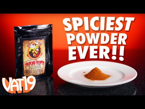 World's Spiciest Pepper Challenge: Carolina Reaper Powder