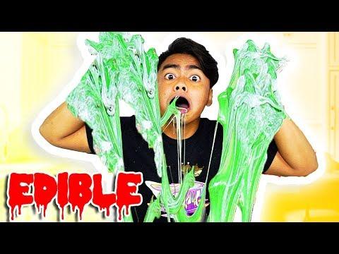 DIY Super Edible Slime!