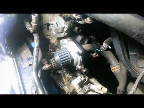 Water pump/timing belt - 2005 Dodge Stratus 2.4L DOHC