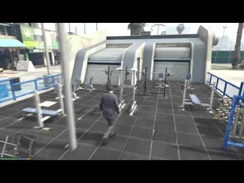 GTA 5 : Gymnasium [Mod Showcase]