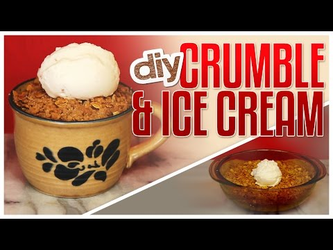 DIY Apple Crumble & Homemade Ice Cream! - Do It, Gurl