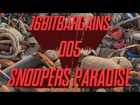 16BitBargains - 005 - Snooper Paradise Brighton - Thrifting Flea Market Game Chasing