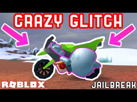 CRAZY MOTORCYCLE GLITCH! *SUPER SPEED* - Roblox Jailbreak Mythbusting #7