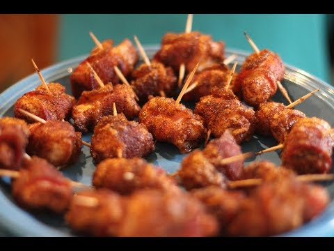 How to Make Bacon Wrapped Chicken Bites