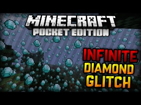 HOW TO GET UNLIMITED DIAMONDS IN MCPE! 100% LEGIT! - Minecraft PE 1.0 (Pocket Edition)