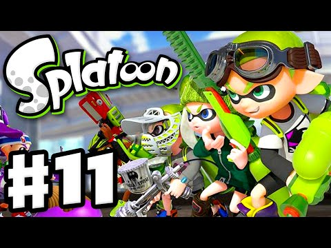 Splatoon - Gameplay Walkthrough Part 11 - Ranked Battle! (Nintendo Wii U)