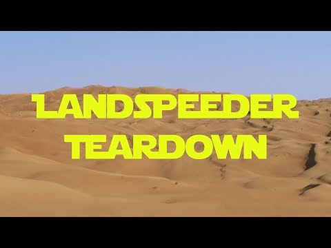 Star Wars Landspeeder Teardown!!!!