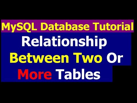 How To Create Relationship Among Tables By Query - MySql Database Bangla Tutorial Part 26