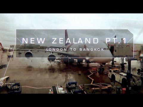 NEW ZEALAND HOLIDAY PT.1 LONDON To BANGKOK | twoplustwocrew