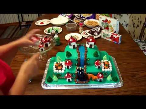 How To Make A Smurf Birthday Cake