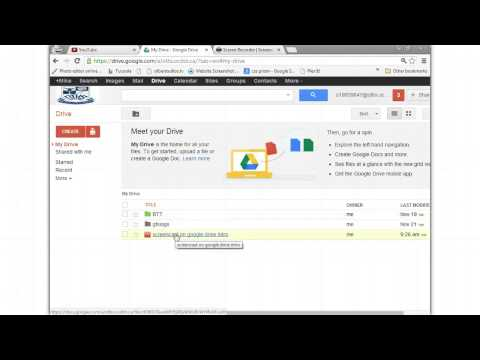 How to Upload Video From Google Drive to Youtube