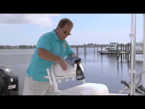 Protecting Boat Seats and Vinyl -- Marine 31 Dockside Tips #5 with Mike Phillips