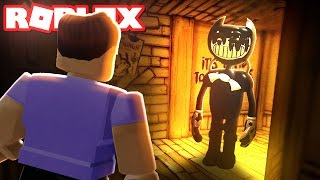 BENDY AND THE INK MACHINE IN ROBLOX (Chapter 2)