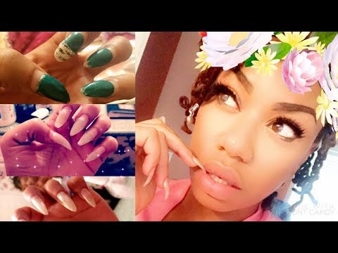 Part 2 How To: Fill in Your Nails @Home| Review Kiss Acrylic Fill-in| Bossbabe Cleopatra