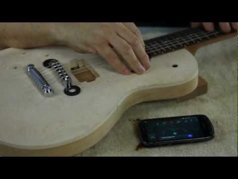Part 3 - Electric Guitar Bridge Installation