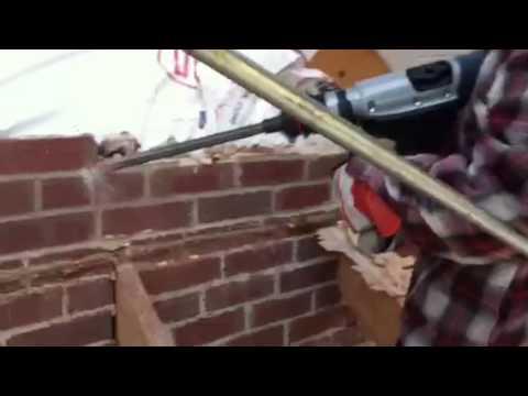 Brick Wall Demolition