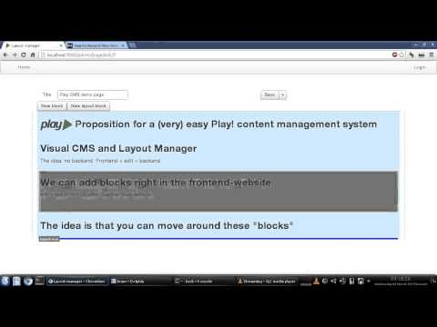 A content management system (CMS) for Play! Framework