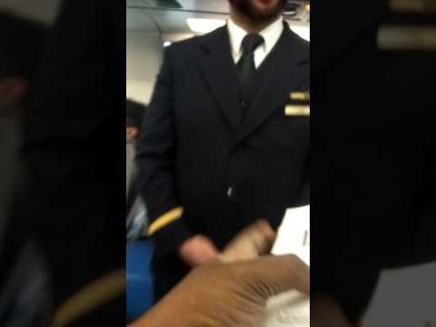 Lufthansa Airbus boarding to Barcelona from Frankfurt