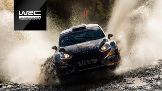 WRC 2 - Dayinsure Wales Rally GB 2018: Highlights Saturday